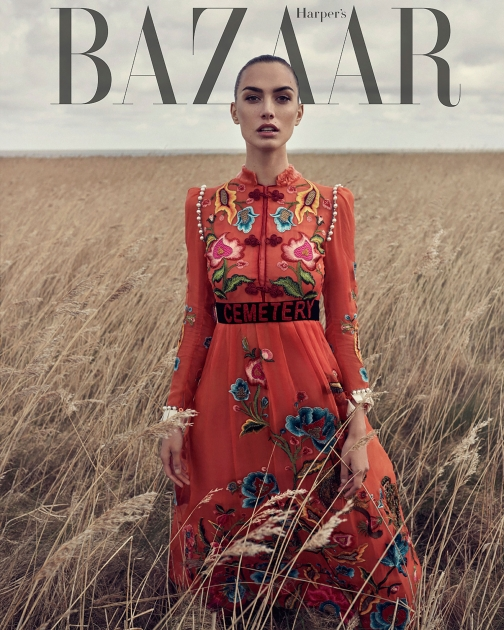 Andreas Ortner Photographer NYC Editorial Cover Harpers Bazaar Sylt