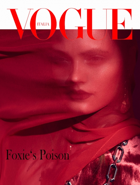 Andreas Ortner Fashion Photographer Vogue Italia NYC Female Model Cover