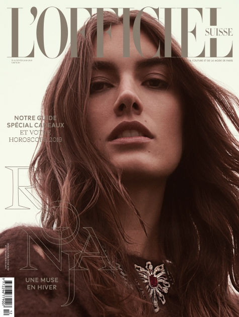 Fashion Photographer Director NYC Andreas Ortner L'Officiel CH Cover Fashion Women