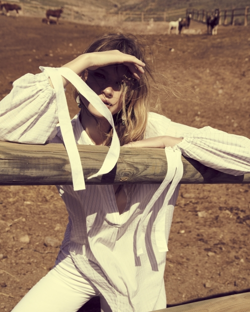 Fashion Photographer Director NYC Andreas Ortner Editorial In The Mood Sunlight