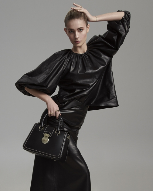 Fashion Photographer Director NYC Andreas Ortner Editorial ELLE All Black