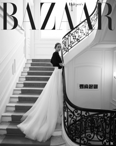 Andreas Ortner Photographer NYC Female Model Harpers Bazaar Couture Cover