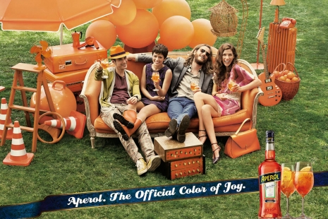 Sven Jacobsen Aperol Advertising