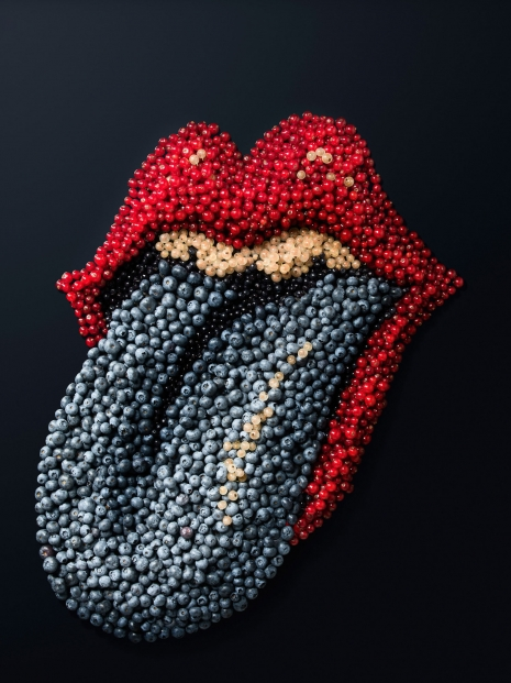 Armin Zogbaum Luxurious Sweets Rolling Stones Blueberries