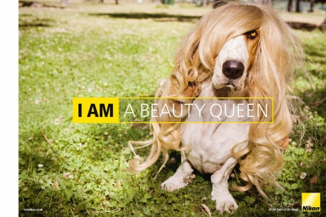 Sven Jacobsen Nikon Beauty Queen Advertising