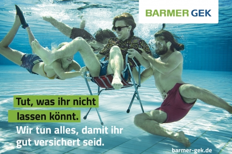 Sven Jacobsen Barmer Insurance Advertising