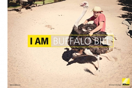 Sven Jacobsen Nikon Buffalo Bill Advertising