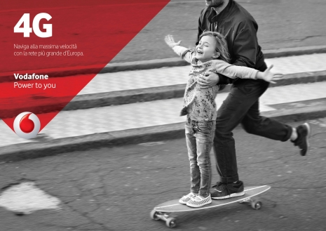 Sven Jacobsen Vodafone Skate Advertising