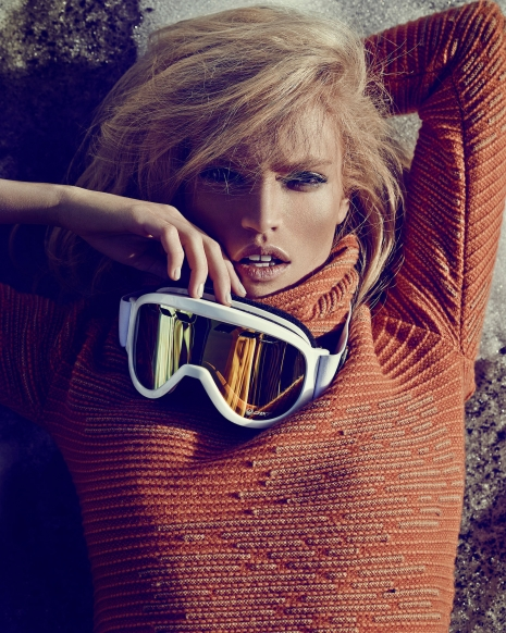 Andreas Ortner Fashion Photographer Harpers Bazaar Mountains Editorial