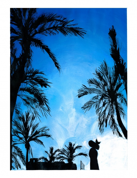 Lily Qian Illustrator NYC Lifestyle Barcelona Miro Palmtrees