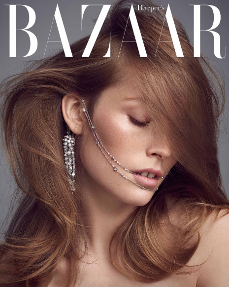 Andreas Ortner Photographer NYC Harpers Bazaar Jewelry hair Beauty Cover Story