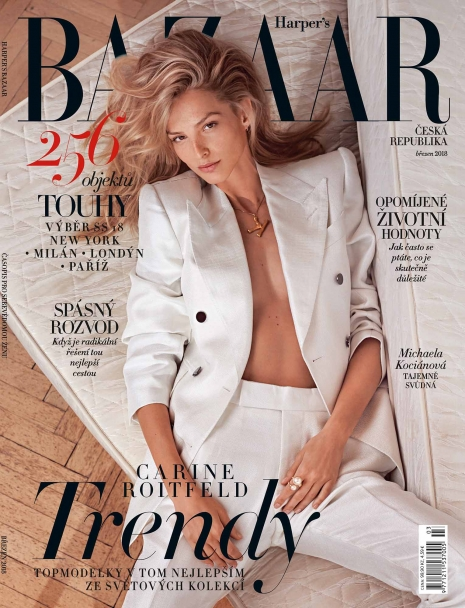 Andreas Ortner Photographer NYC March Cover Harpers Bazaar