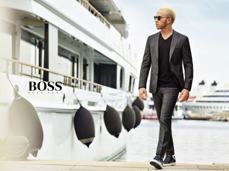 Hugo Boss Mercedes Collection Lewis Hamilton by Hunter & Gatti