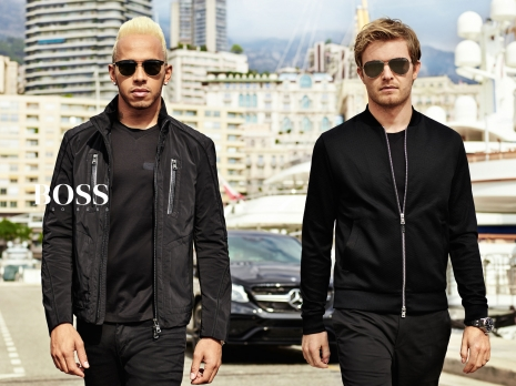 Hugo Boss Mercedes Collection Lewis Hamilton Nico Rosenberg by Hunter & Gatti