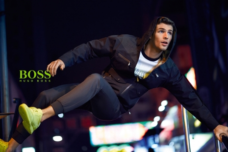 Hugo Boss Green Tokio Jumping by Hunter & Gatti
