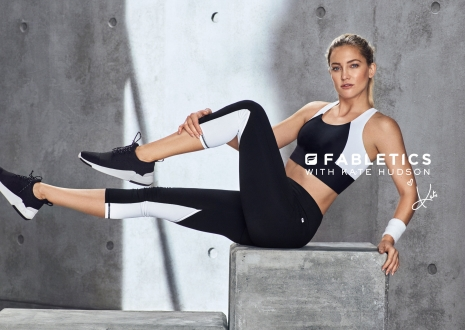 Fabletics Kate Hudson Gym work out by Hunter & Gatti