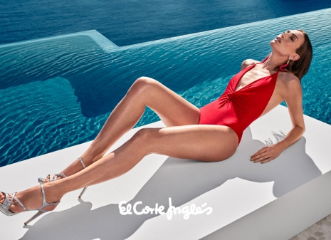 El Corte Ingles Swimwear infinity pool by Hunter & Gatti