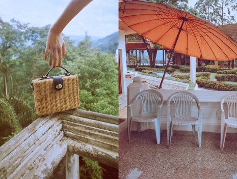 Photographer Director NYC Hunter & Gatti Mango Campaign Thailand Accessories umbrella