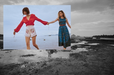 Photographer Director NYC Hunter & Gatti Mango Campaign Thailand Girls Walking on Beach