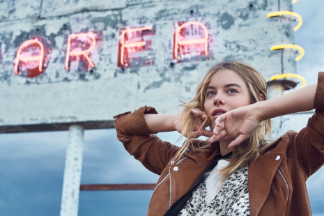 Mango OnLocation Camille Rowe Wall by Hunter & Gatti