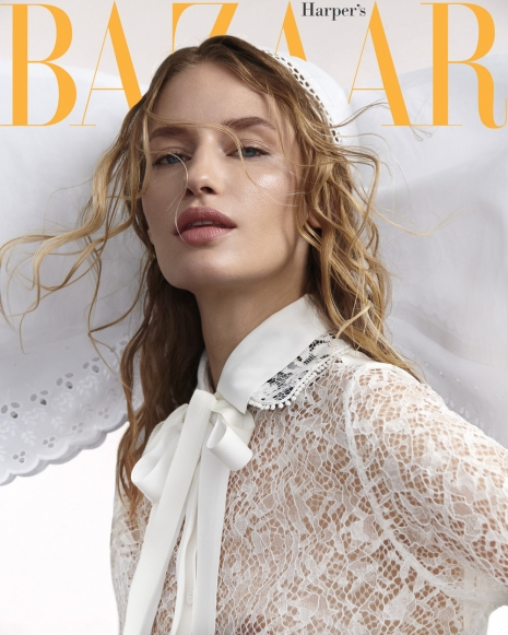 Fashion Photographer Director NYC Andreas Ortner Harpers Bazaar CZ Cover Beauty
