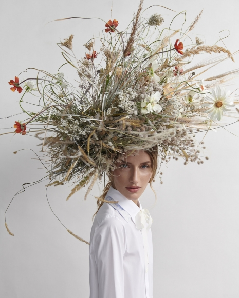 Fashion Photographer Director NYC Andreas Ortner Harpers Bazaar CZ Flower Crown Beauty