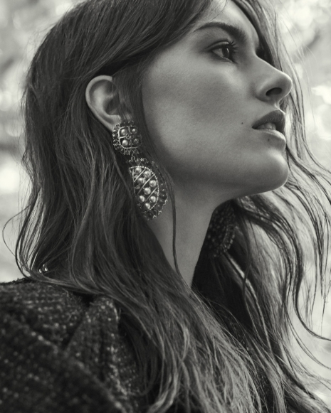 Fashion Photographer Director NYC Andreas Ortner L'Officiel CH Earring Fashion Women