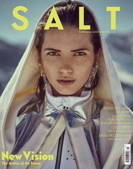 Fashion Photographer Director NYC Andreas Ortner Salt Magazine Editorial Swarovski Cover Fashion Women