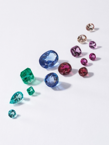 Still Life Photographer Armin Zogbaum Bucherer Jewelry Colourful Diamonds