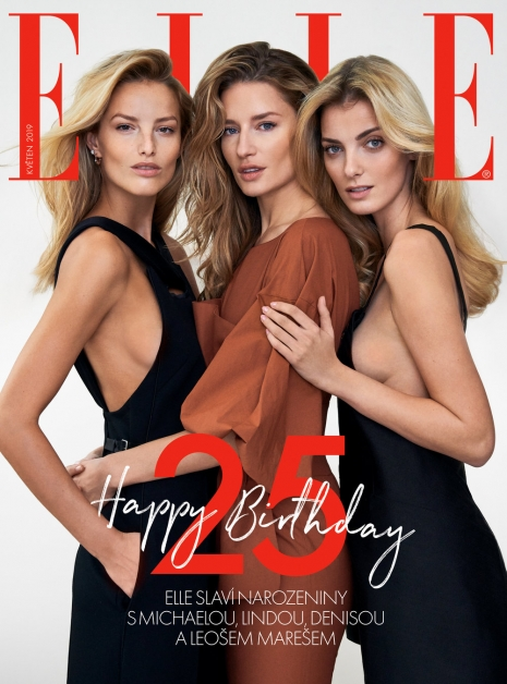 Fashion Photographer Director NYC Andreas Ortner ELLE Magazine 25 Years Cover Fashion Women