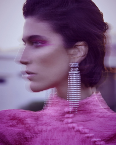 Fashion Photographer Director NYC Andreas Ortner Vogue Italia Palm Springs Earring Beauty