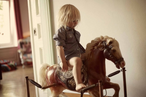 Sven Jacobsen Lifestyle Photographer Toddler Rocking Horse Kids