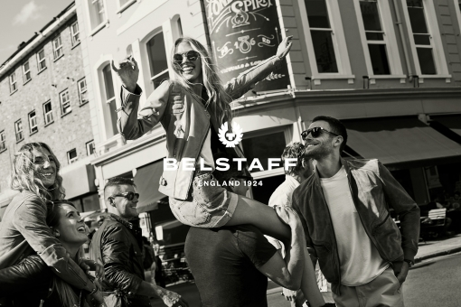 Photographer New York Sven Jacobsen Belstaff London Advertising Fashion On Shoulders