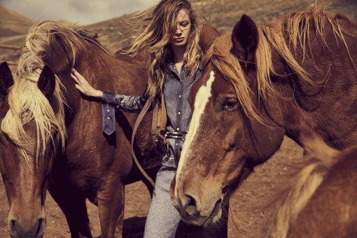 Fashion Photographer Director NYC Andreas Ortner Editorial In The Mood Horses