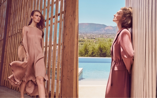 Fashion Photographer Director NYC Andreas Ortner Editorial ELLE Magazine Germany Beige Fashion Women