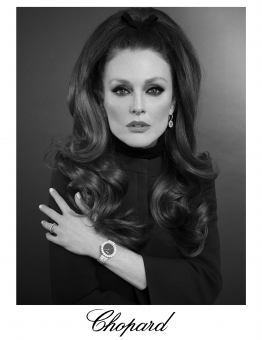 Fashion Photographer Director NYC Andreas Ortner Chopard Julianne Moore 70s Hair Frontal Beauty