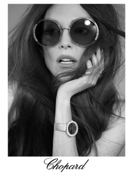 Fashion Photographer Director NYC Andreas Ortner Chopard Julianne Moore Sunglasses Beauty