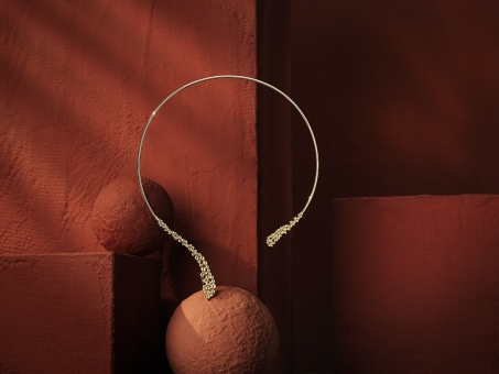 Still Life Photographer Armin Zogbaum Bujukan Jewelry Collection Gabriel & Co Choker