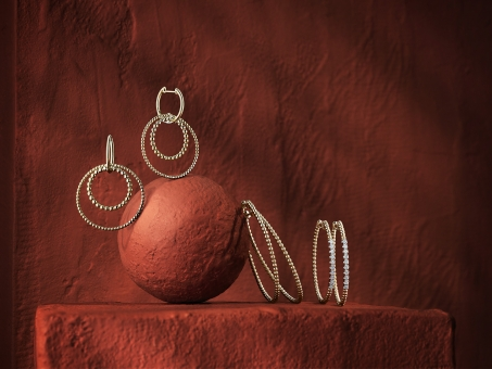 Still Life Photographer Armin Zogbaum Bujukan Jewelry Collection Gabriel & Co Earrings