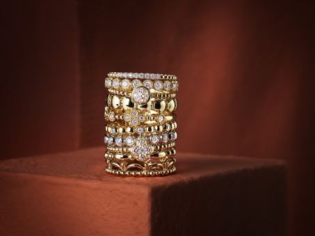 Still Life Photographer Armin Zogbaum Bujukan Jewelry Collection Gabriel & Co Rings