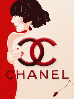 Lily Qian Illustrator Chanel Polish Cosmetics